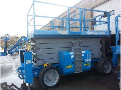 2008 GENIE GS5390RT SCISSOR LIFT