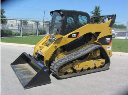 2010 CATERPILLAR 299C SKID STEER