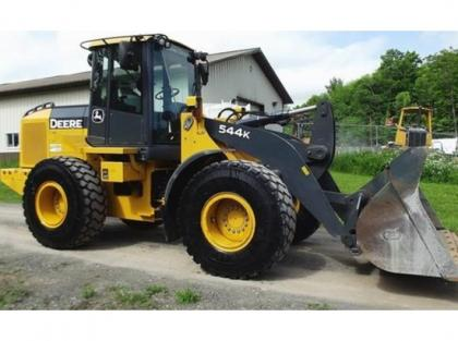 2010 JOHN DEERE 544K WHEEL LOADER