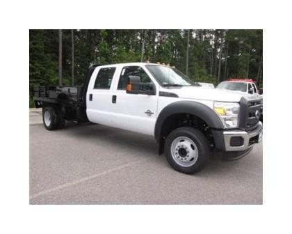 2012 FORD F450 CREW CAB TRUCK