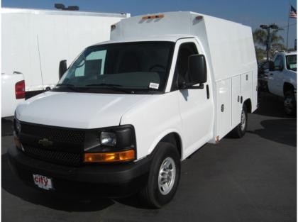 2013 CHEVROLET EXPRESS 2500 CARGO VAN TRUCKS