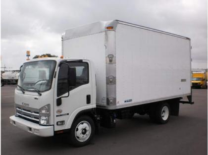 2013 ISUZU NQR REFRIGERATED TRUCK