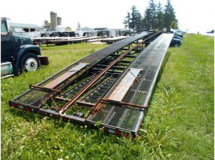 Car Haulers Export This 2008 Kaufman 50ft Wedge Hauler