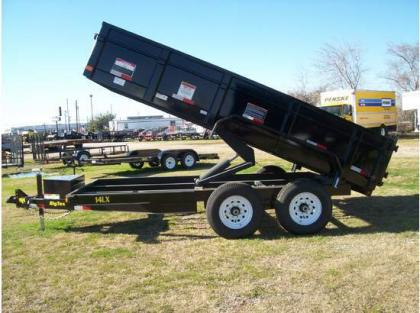 2011 BIG TEX 14LX DUMP TRAILERS