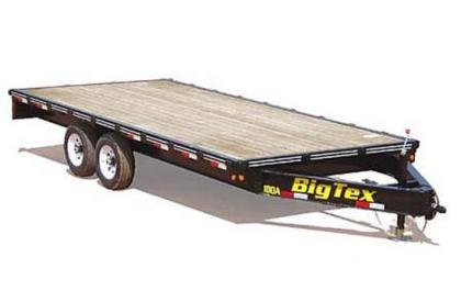 2012 BIG TEX 10OA EQUIPMENT TRAILERS