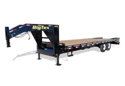 2012 BIG TEX 14GN 20 5 CENTER POP UP GOOSENECK TRAILERS