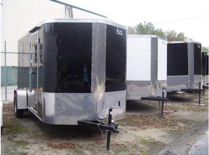 2012 CARGO CRAFT ELITE V ENCLOSED TRAILERS