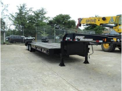2012 EAGER BEAVER FLATBED TRAILERS