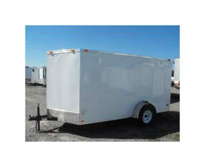 2013 ALL PRO 612SARDVN ENCLOSED TRAILERS