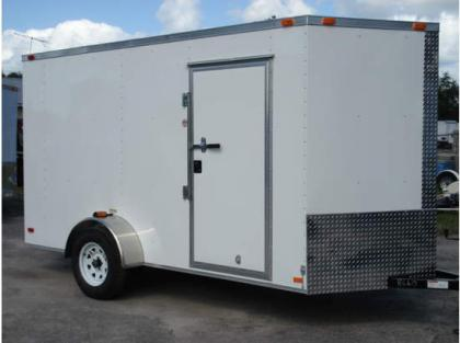 2013 ALL PRO 612SA ENCLOSED TRAILERS