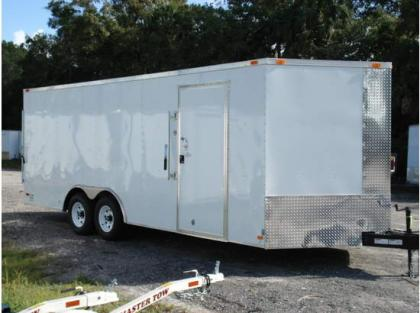 2013 ALL PRO 8.5X20  ENCLOSED TRAILERS