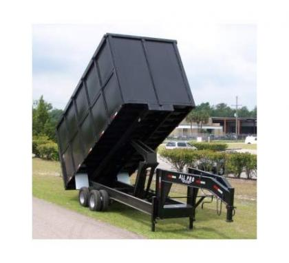 2013 ALL PRO HEAVY DUTY 8 FOOT DUMP TRAILERS