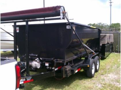 2008 ANDERSON RD7T ROII OFF DUMP TRAILERS