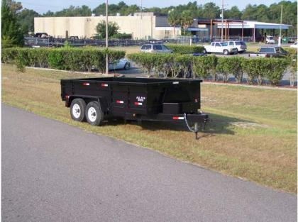 2012 ALL PRO DT7147T24 DUMP TRAILERS