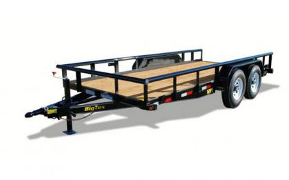2012 BIG TEX 12PI 20BK EQUIPMENT TRAILERS