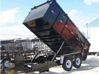 2012 ALL PRO DT7147T48 DUMP TRAILERS